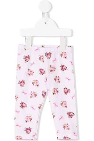 MONNALISA Baby Leggings - Floral print leggings
