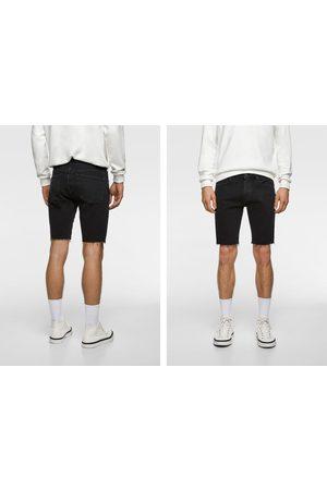 Zara Men Bermudas - Denim bermuda shorts
