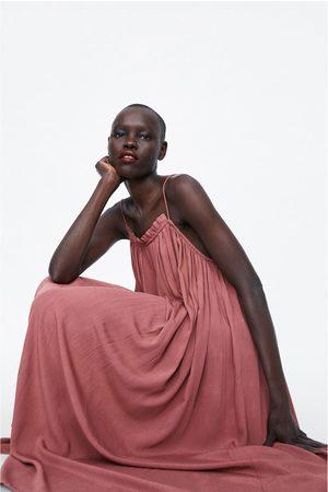 Zara Long camisole dress