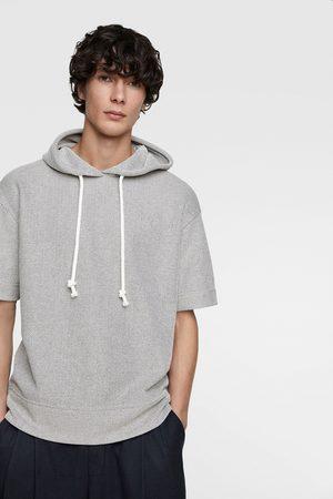 Zara Textured hoodie