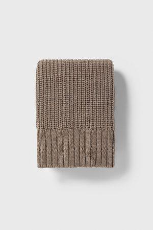 Zara Purl-knit scarf