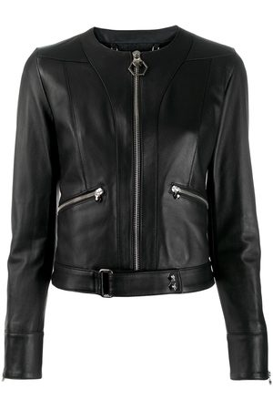 Philipp Plein Statement leather jacket