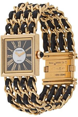 CHANEL CC logos Mademoiselle watch