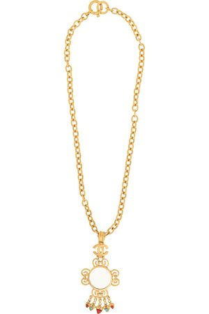 CHANEL Loupe pendant necklace