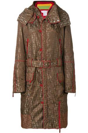 Dior Women Coats - Pre-owned logo print hooded coat