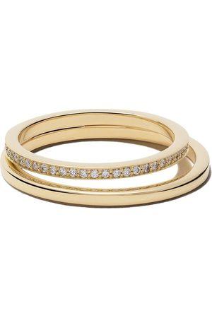 Georg Jensen Women Rings - 18kt Halo brilliant cut diamond ring