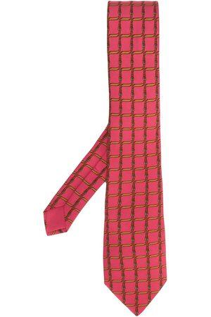 Hermès 2000's belt print tie