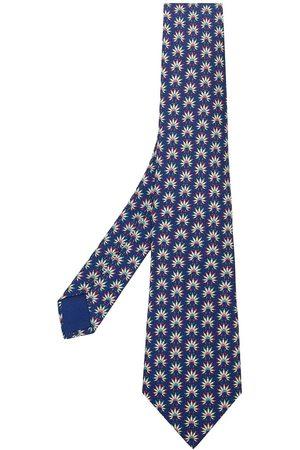 Hermès Geige flowers print tie