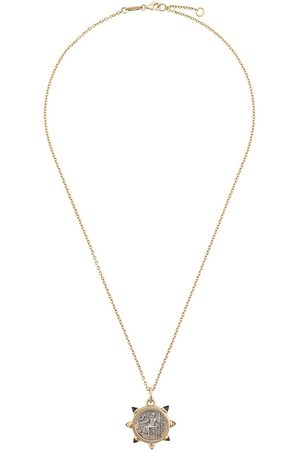 Dubini 18kt Alexander the Great citrine pendant necklace