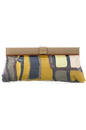 A.N.G.E.L.O. Vintage Cult Abstract print rectangular clutch