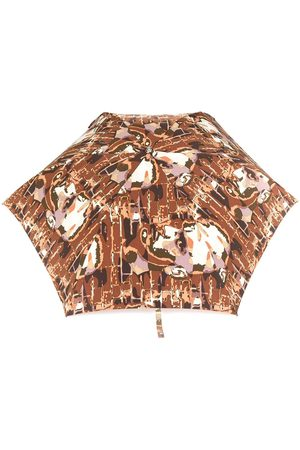 Jean Paul Gaultier Face printed umbrella