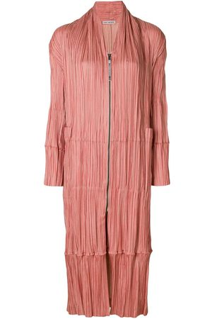 Issey Miyake Pleated coat