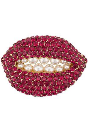 Katheleys Vintage 2002s Ruby Lip brooch