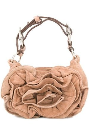 Yves Saint Laurent Women Tote Bags - Mini draped tote bag