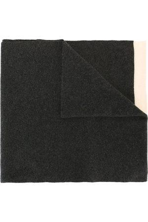 CHANEL 1990s colour block scarf