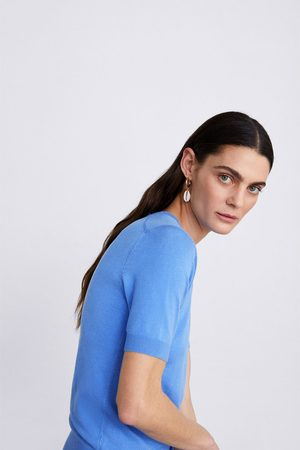 Zara Basic short sleeve sweater