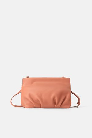 d5a6bc719a Ruched leather crossbody bag