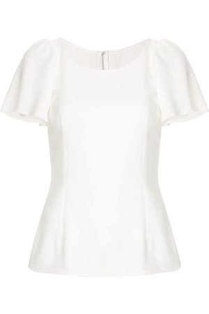 Dolce & Gabbana Ruffled sleeve top