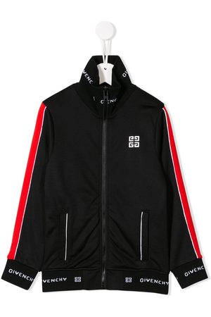 Givenchy Contrast logo sweat jacket