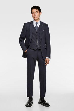 Zara Men Waistcoats - Chintz comfort suit waistcoat