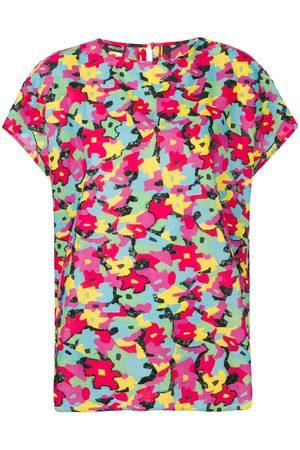 Fendi 1990's puzzle print T-shirt