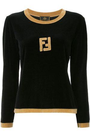 Fendi Long sleeve fitted sweatshirt