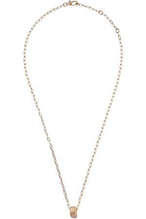 Pomellato 18kt rose Iconica diamond pendant necklace
