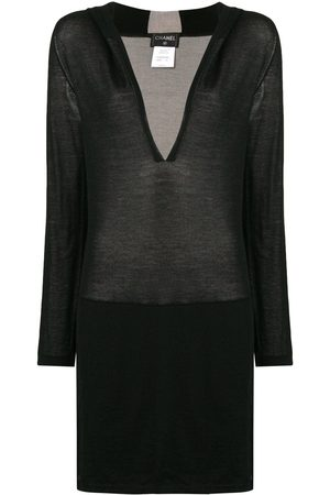 CHANEL Deep v-neck sweater