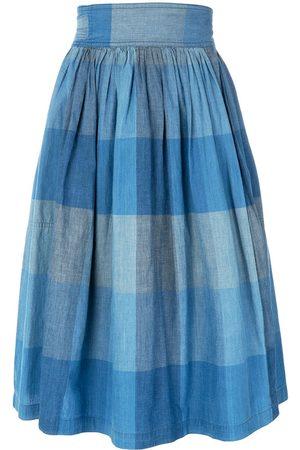 Issey Miyake Women Skirts - Check wrap skirt