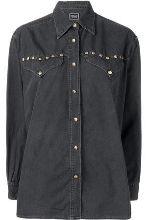 VERSACE Long-sleeve buttoned shirt