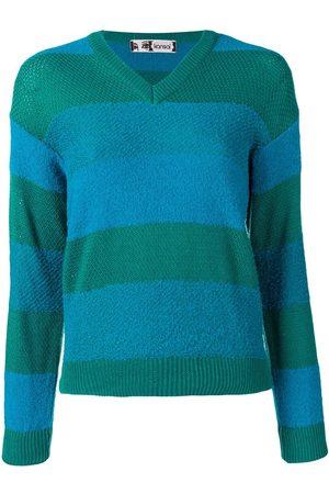 KANSAI YAMAMOTO V-neck striped sweater