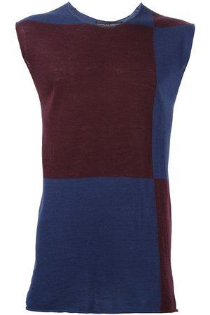 Comme des Garçons Colour block knit top