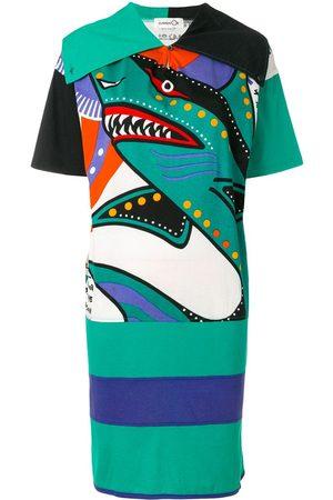 KANSAI YAMAMOTO Women Casual Dresses - Oversized T-shirt dress