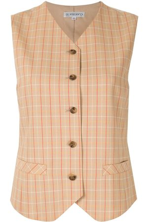 Burberry Checked vest