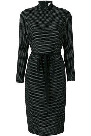 VERSACE Polka dot print dress
