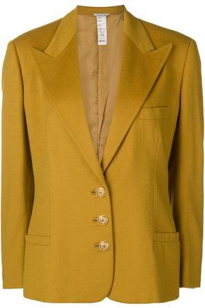 VERSACE 1980's peaked lapels blazer