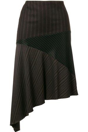 ROMEO GIGLI Asymmetric draped skirt