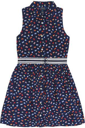Ralph Lauren Baby Casual Dresses - Flag belted cotton shirt dress