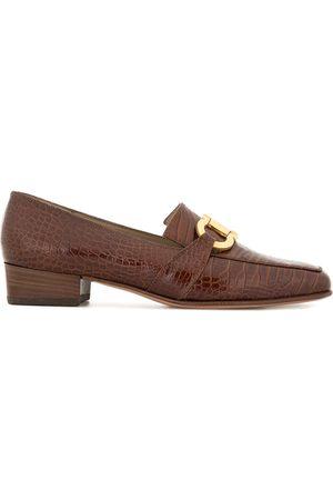 Salvatore Ferragamo Logo horsebit loafers