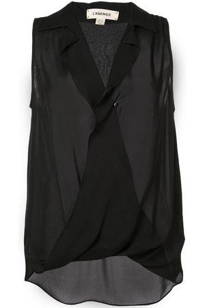 L'Agence Women Camisoles - Wrap front vest