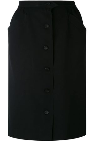 Yves Saint Laurent Women Skirts - Button front skirt