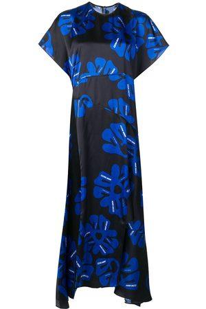 Nina Ricci Floral asymmetric dress