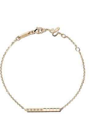 Chopard 18kt yellow gold Ice Cube Pure diamond bracelet