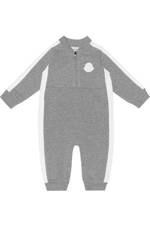 Moncler Baby stretch-cotton onesie