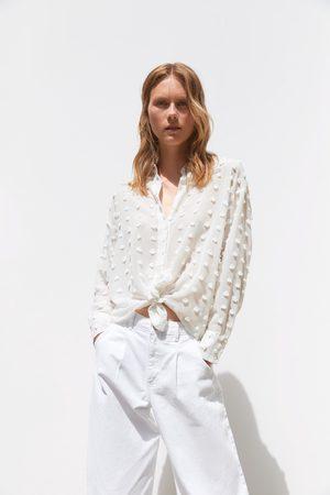 Zara Polka dot shirt