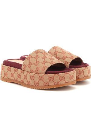 Gucci Original GG platform sandals