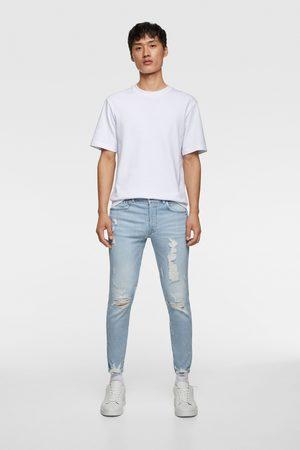 Zara Skinny jeans with ripped hems
