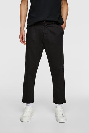 Zara Pleated chino trousers