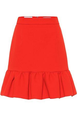 Msgm Women Skirts - Stretch crêpe miniskirt