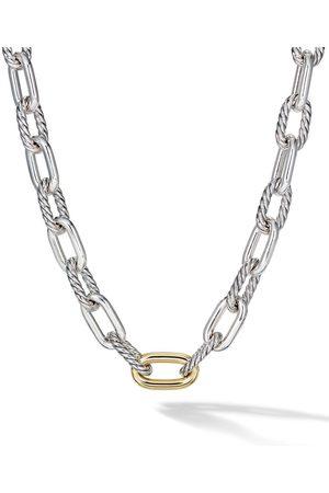 David Yurman 18kt yellow gold DY Madison large 13.5mm necklace